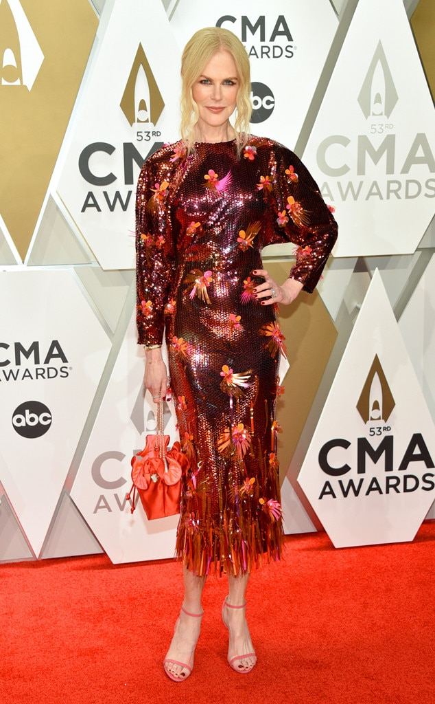 Nicole Kidman, 2019 CMA Awards, Red Carpet Fashion
