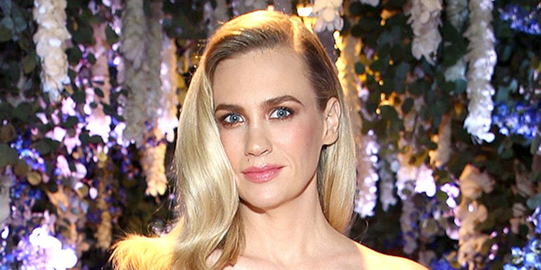 January Jones Stuns in the Iconic Red Dress She Wore to the Golden Globes 10 Years Ago - E! Online.jpg