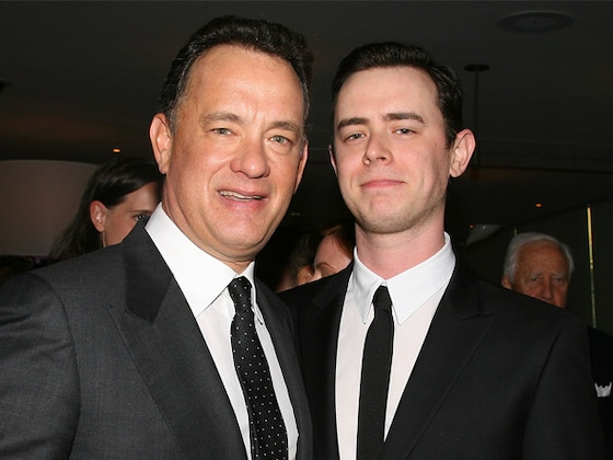 Tom Hanks' Son Colin Had the Sweetest Reaction to Seeing Dad Onscreen for the First Time