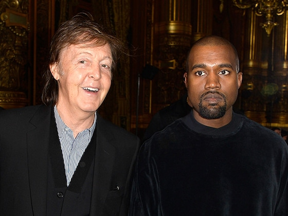 "Paul McCartney Recalls Kanye West ""Scrolling Through Images"" of Kim Kardashian"