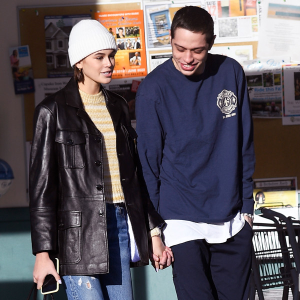 Kaia Gerber Gives Pete Davidson a Sweet (Literally) Birthday Present