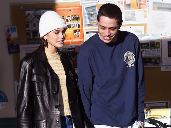 Kaia Gerber Gives Pete Davidson a <i>Sweet</i> Birthday Present