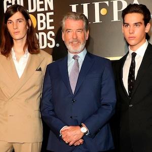 Dylan Brosnan, Pierce Brosnan, Paris Brosnan