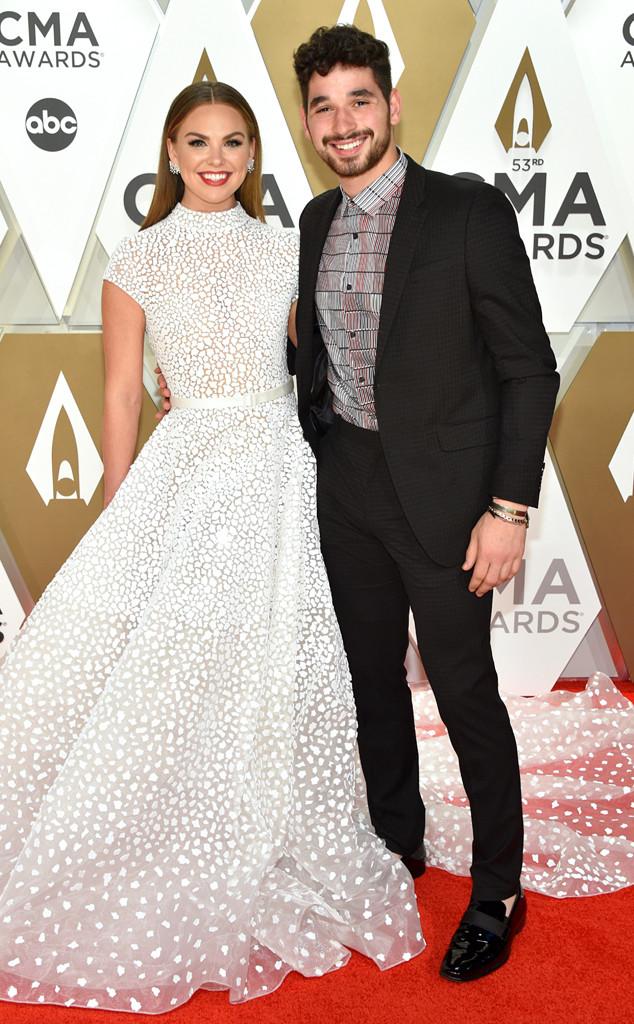 Hannah Brown, Alan Bersten, 2019 CMA Awards