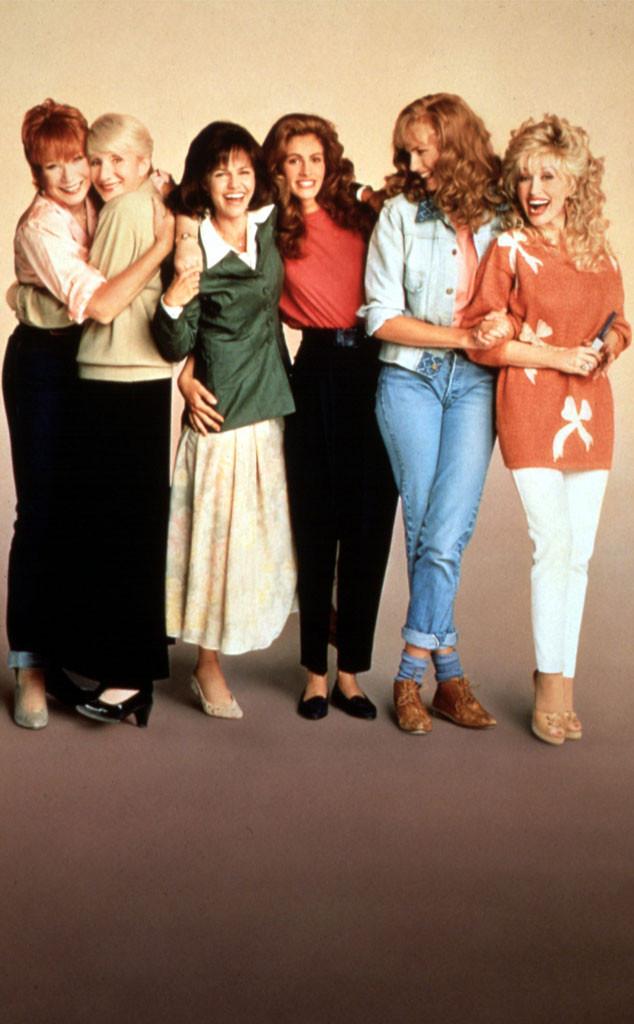 Steel Magnolias, Shirley Maclaine, Olympia Dukakis, Sally Field, Julia Roberts, Daryl Hannah, Dolly Parton, Steel Magnolias