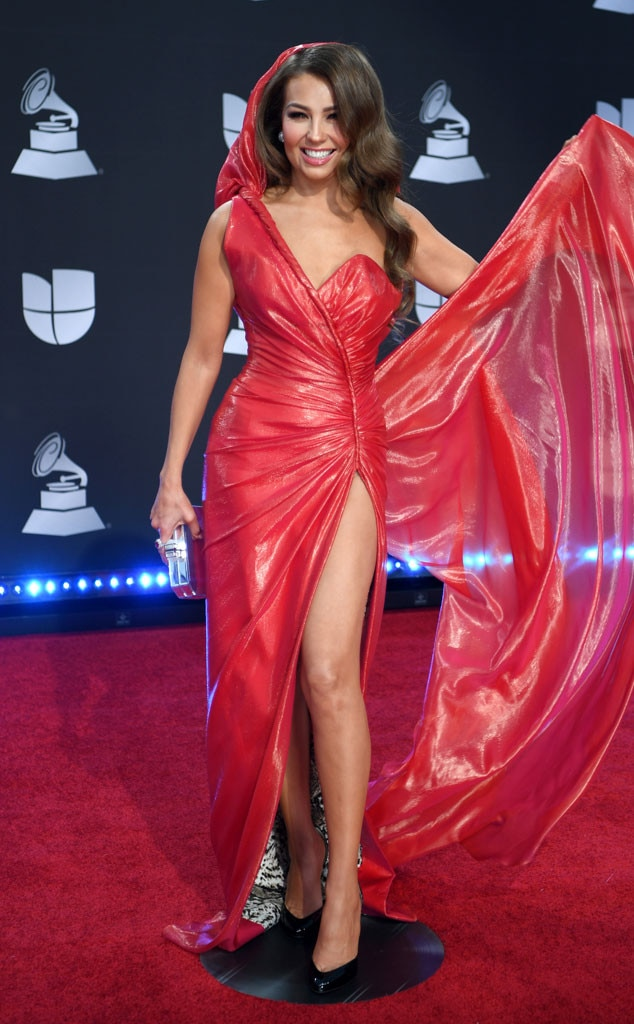 Thalía, 2019 Latin Grammy Awards, Red Carpet Fashion