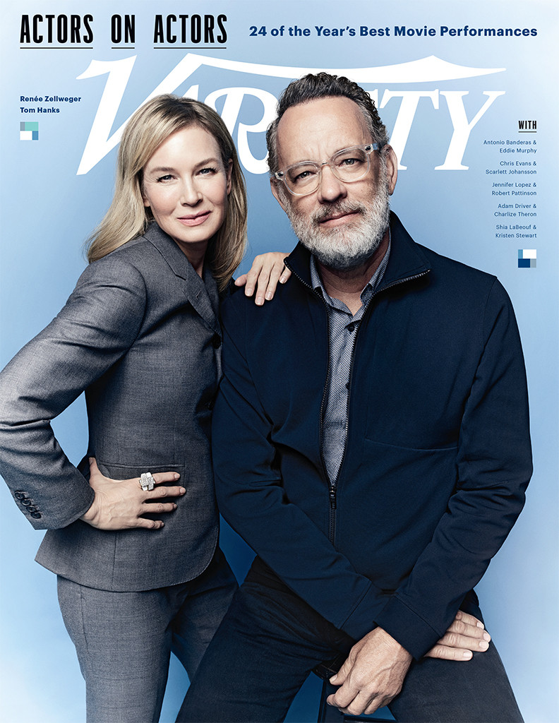 Tom Hanks, Renee Zellwegger, Variety, November 2019