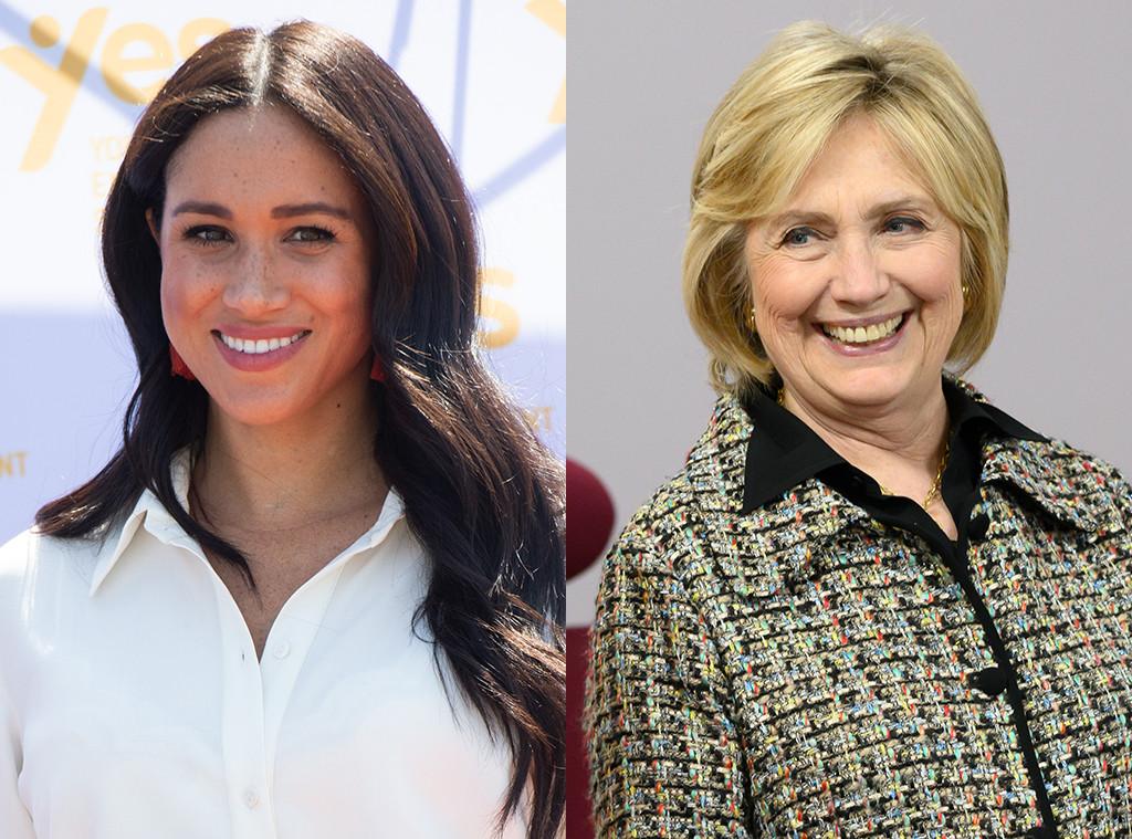 Meghan Markle, Hillary Clinton