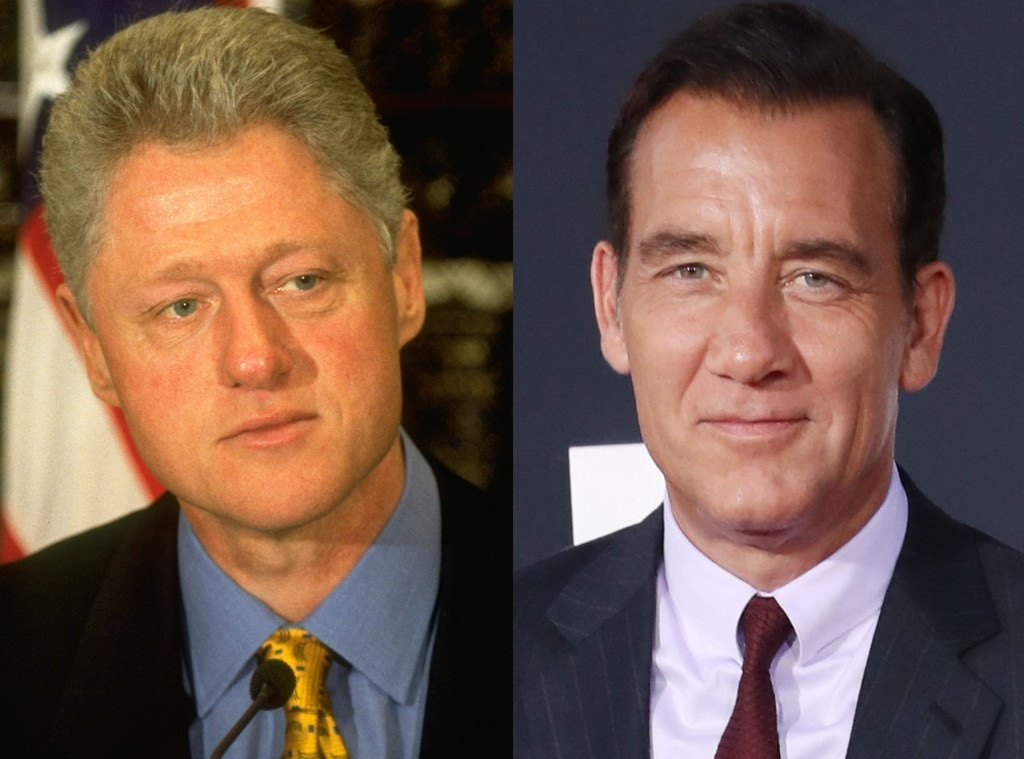 Bill Clinton, Clive Owen