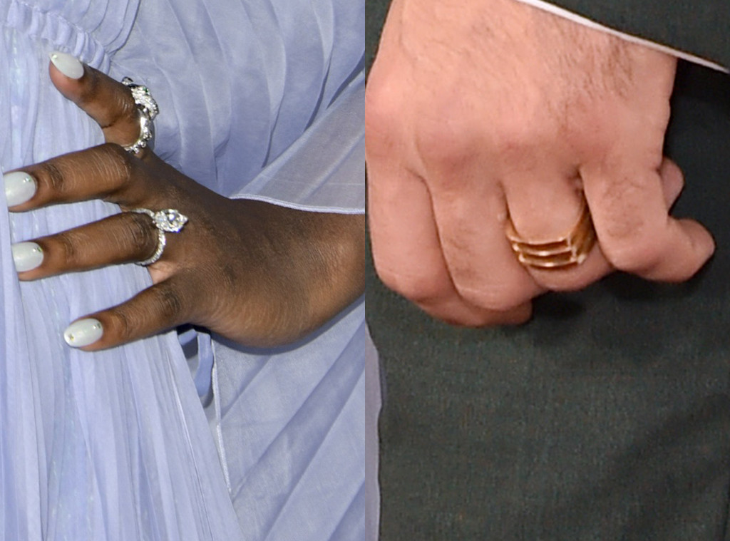 Jodie Turner-Smith, Joshua Jackson, Wedding Rings