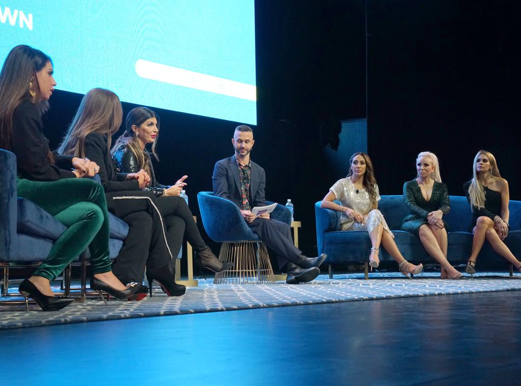 BravoCon 2019, Jennifer Aydin, Dolores Catania, Teresa Giudice, Melissa Gorga, Margaret Josephs, Jackie Goldschneider