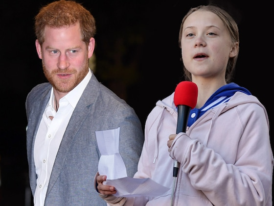 Le prince Harry fait les louanges de Greta Thunberg aux OnSide Awards 2019