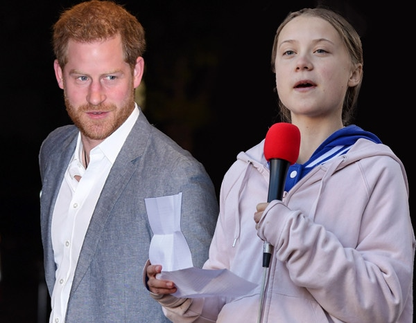 Prince Harry Praises Climate Change Activist Greta Thunberg at the 2019 OnSide Awards
