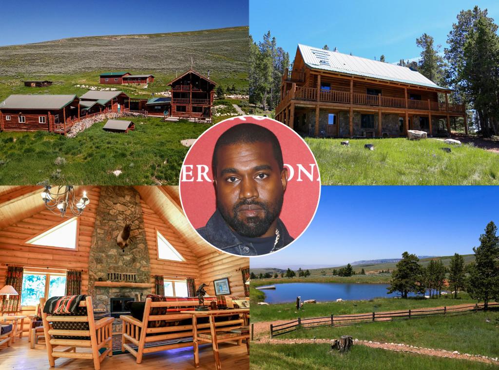 Go Inside Kanye West S New 14 Million Wyoming Ranch E Online