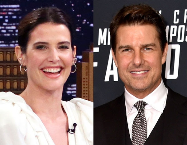Cobie Smulders Can't Get Enough of Tom Cruise's Annual Holiday Cake