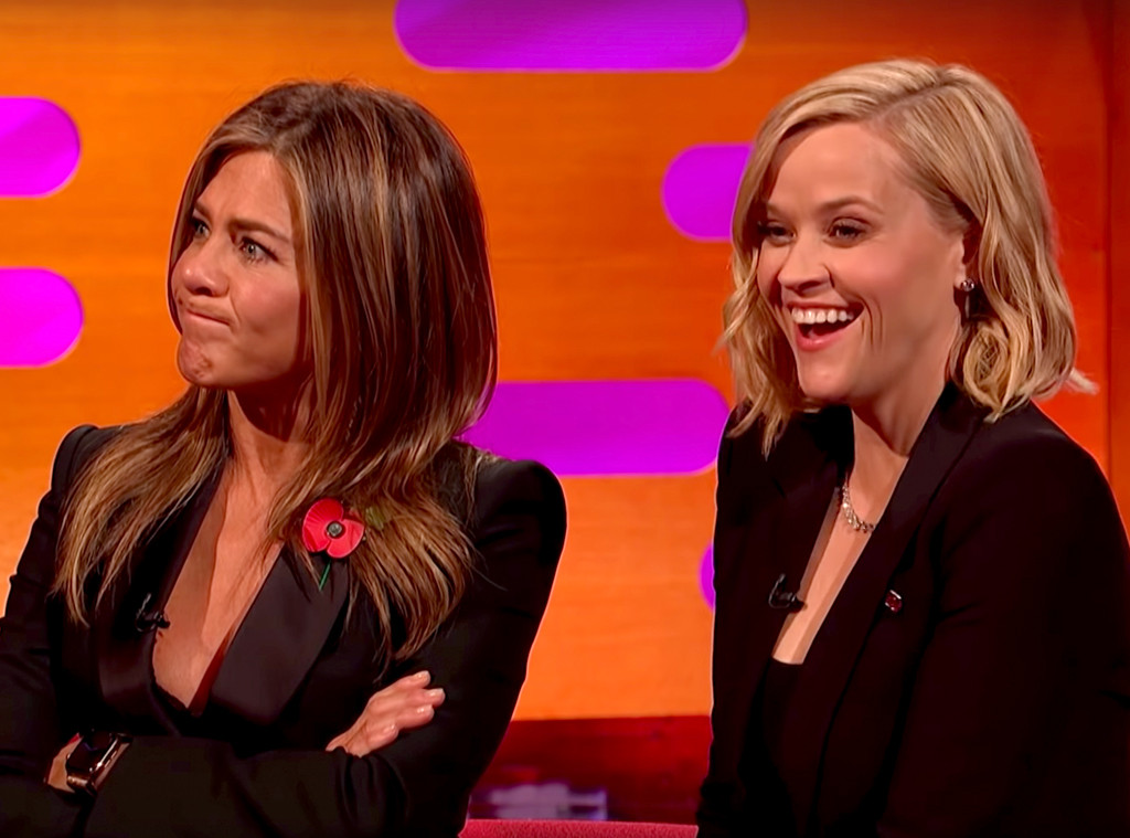 Jennifer Aniston, Reese Witherspoon, Graham Norton Show