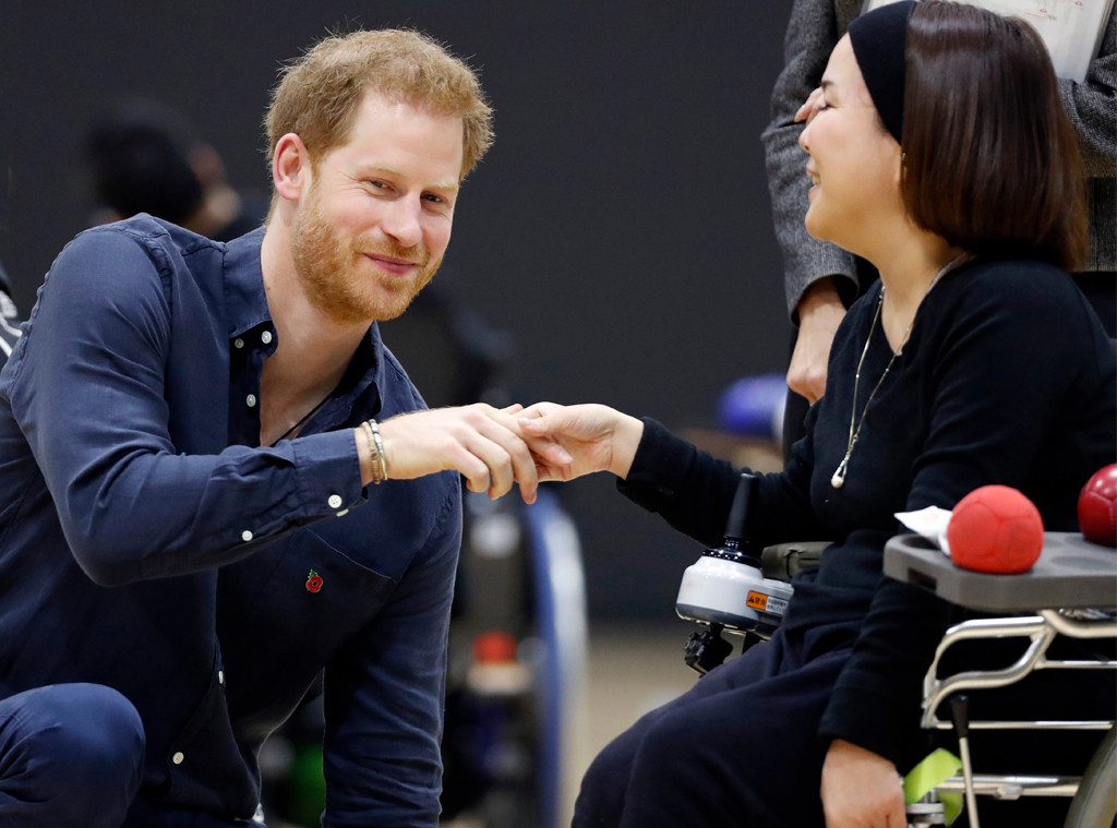 Prince Harry, Duke of Sussex, Japan