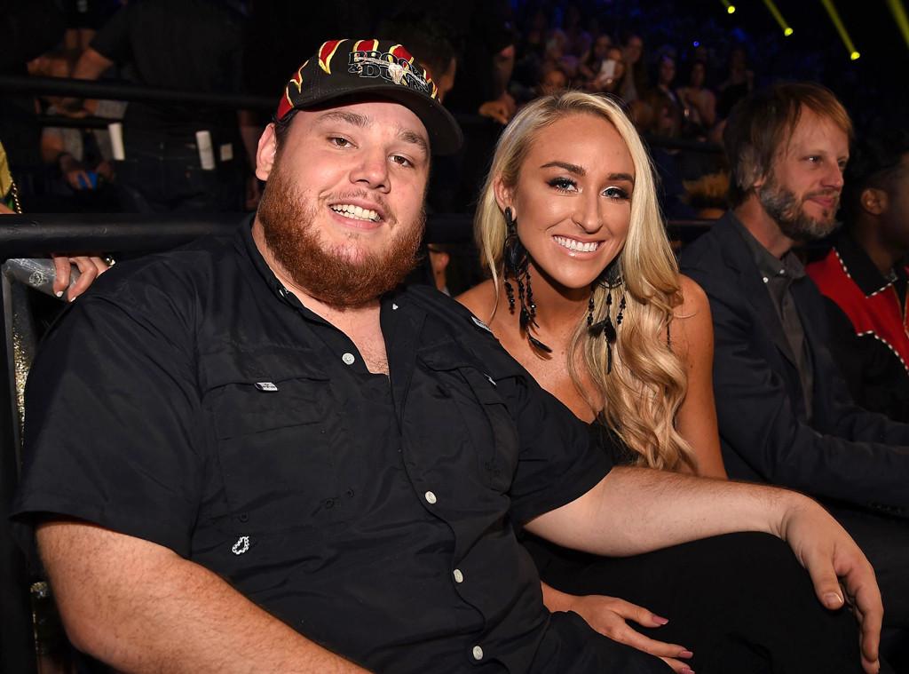 Luke Combs, Nicole Hocking, 2018 CMT Music Awards