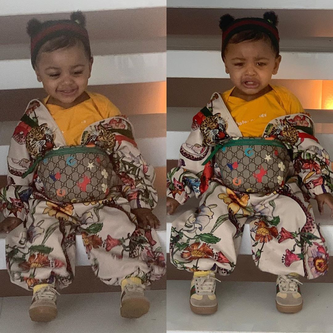 Cardi B S Daughter Kulture Is Already A Fashionista In Head To Toe
