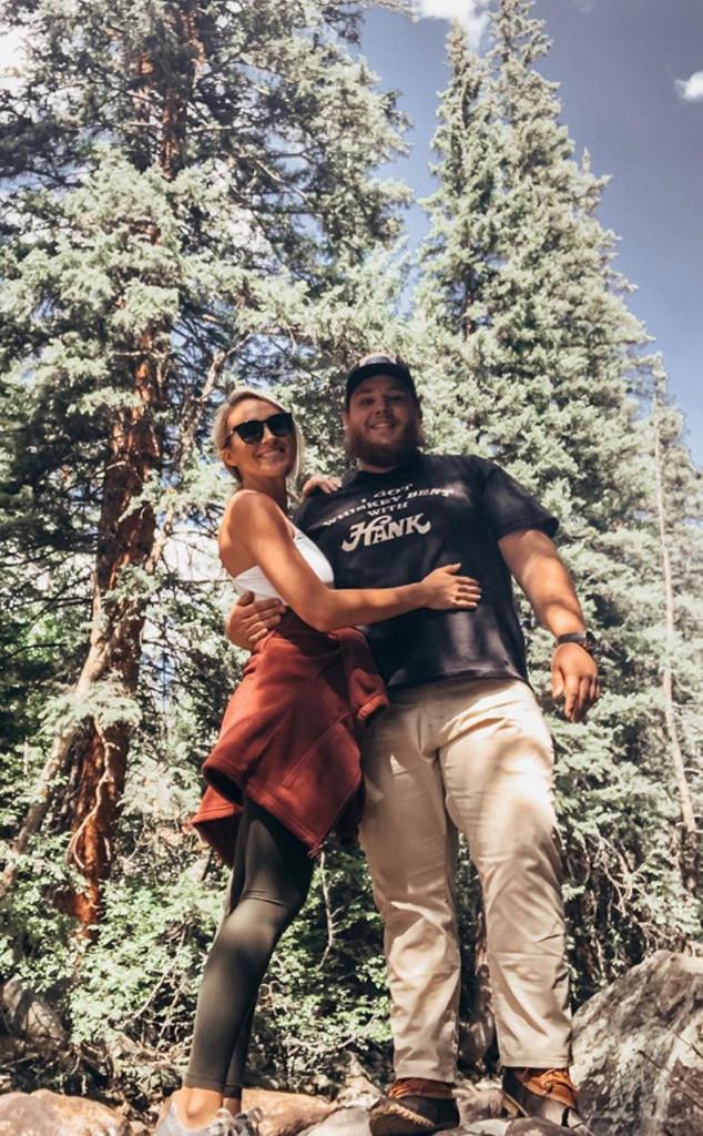 Inside Luke Combs Beautiful Crazy Love Story With Nicole Hocking E Online