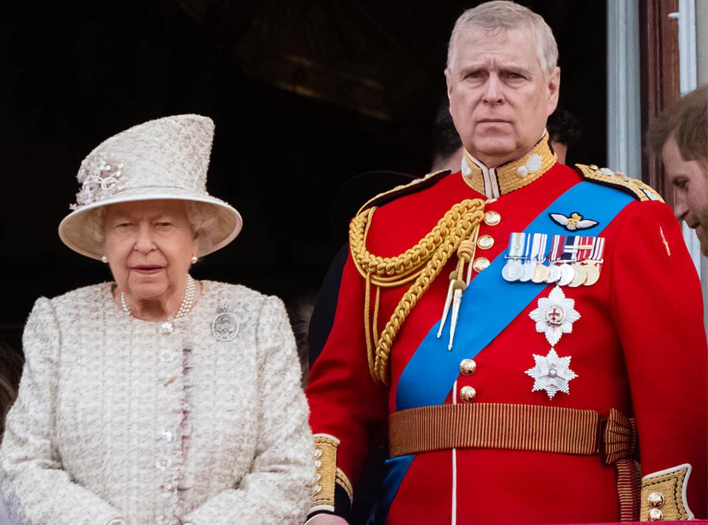 Queen Elizabeth, Prince Andrew