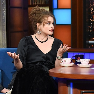 Helena Bonham Carter, Stephen Colbert, Late Show