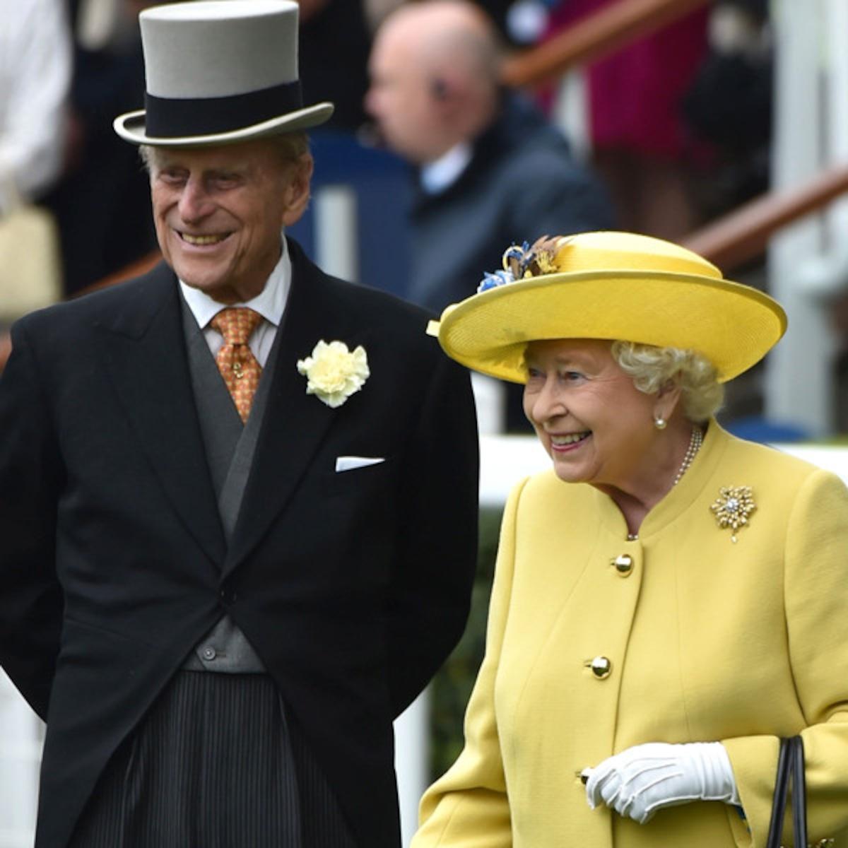 Royal Family Celebrates Queen Elizabeth Prince Philip S Anniversary E Online