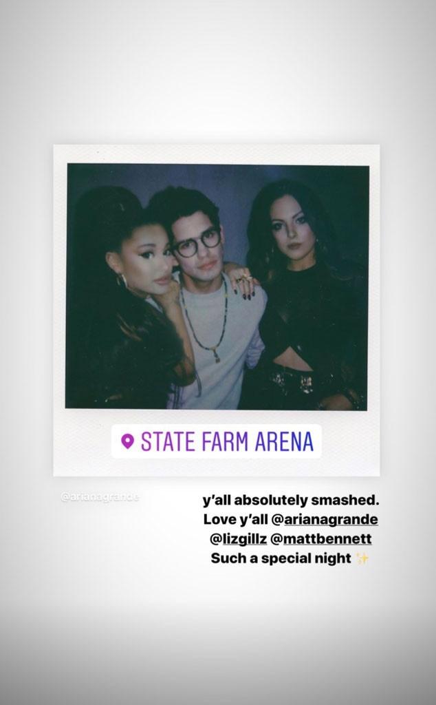 Ariana Grande, Matthew Bennett, Elizabeth Giles