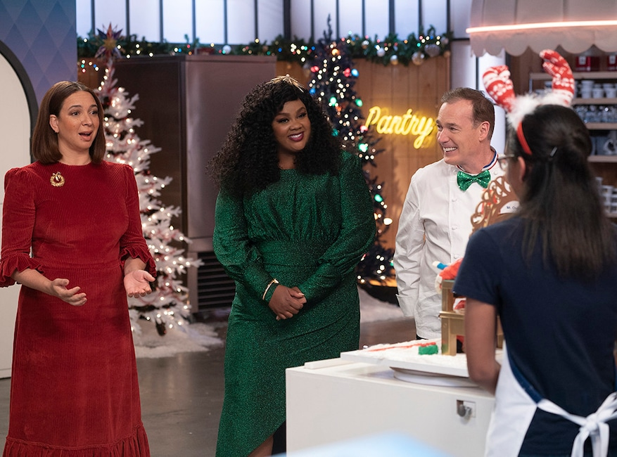 Nailed It Holiday 2, Nicole Byer, Jacques Torres, Maya Rudolph
