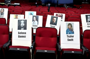 American Music Awards 2019, Seating Chart