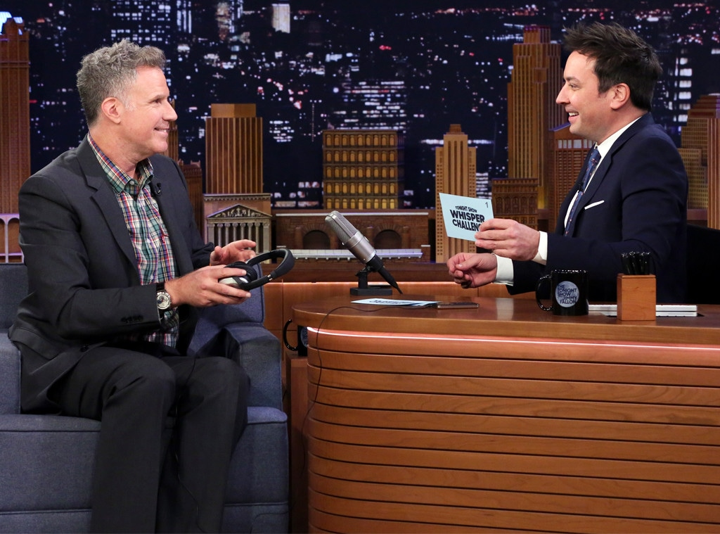 Will Ferrell, Jimmy Fallon, Tonight Show