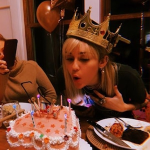 Miley Cyrus, Birthday, Instagram