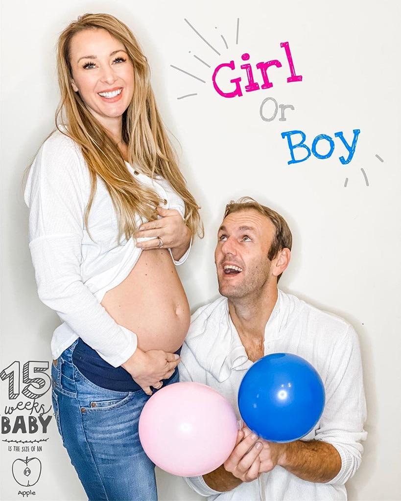 Jamie Otis, Baby Gender Reveal Party, Instagram