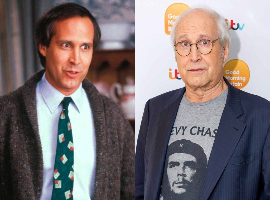 Chevy Chase, Christmas Vacation, Then and Now