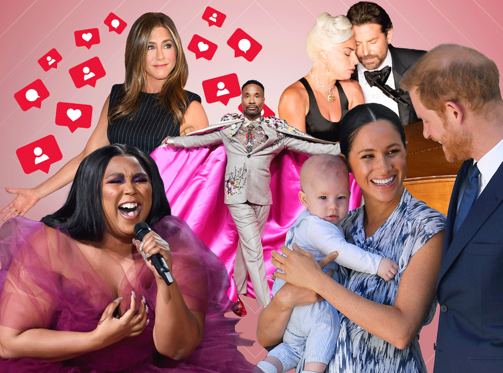 Pop Culture Moments We're Thankful For: Jennifer Aniston, Lizzo, Meghan Markle, Archie, Lady Gaga, Bradley Cooper, Billy Porter