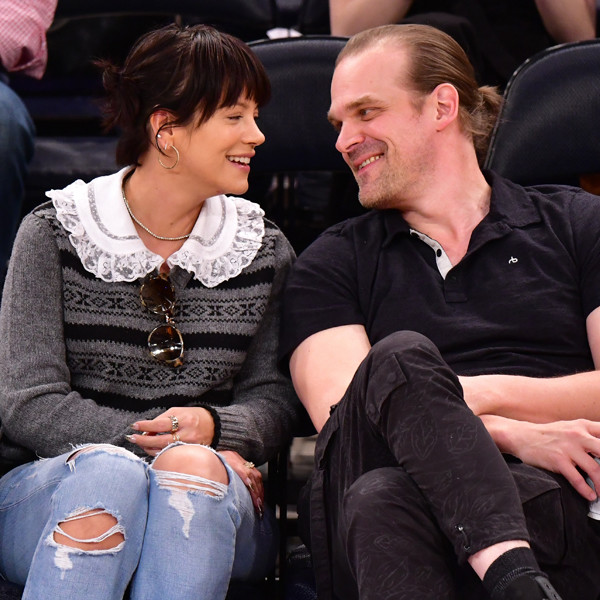 Lily Allen Sparks Engagement Speculation With David Harbour