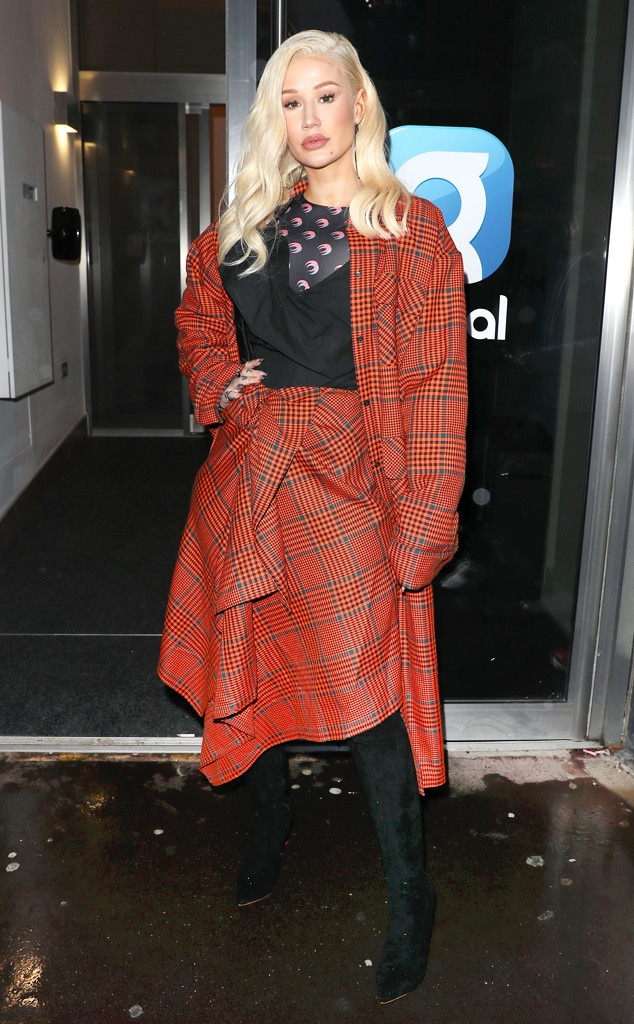 Iggy Azalea, Fashion Police Widget