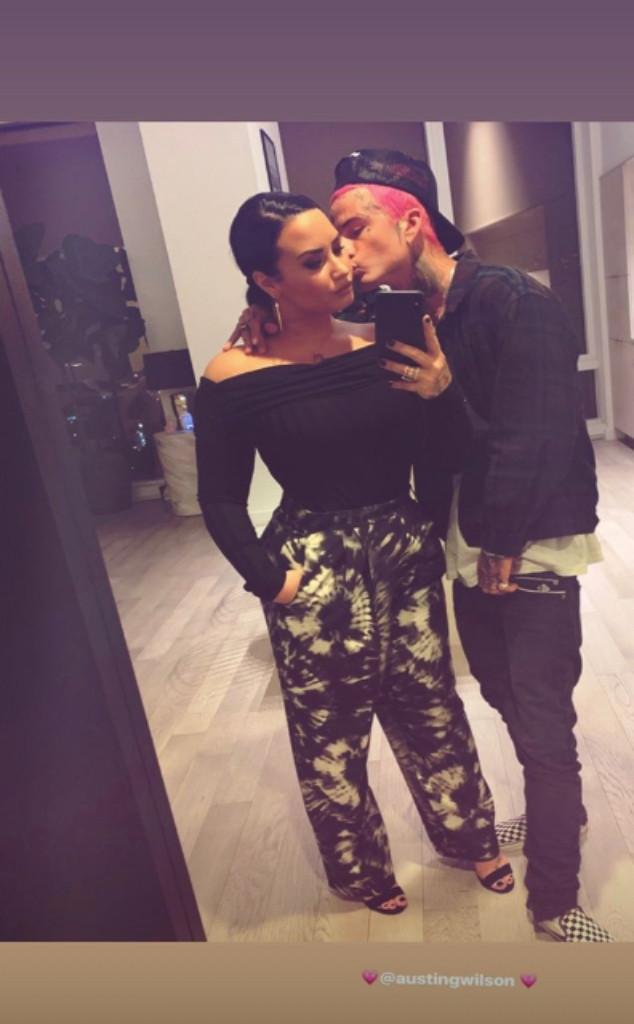 Demi Lovato, Austin Wilson, Instagram