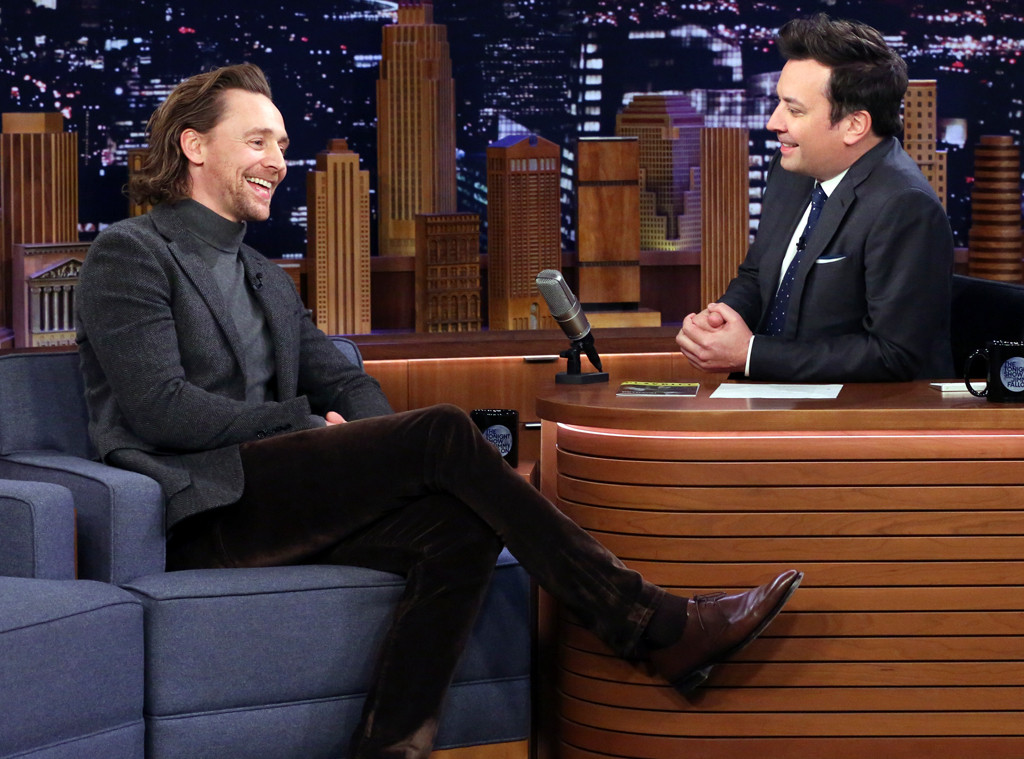 Tom Hiddleston, The Tonight Show Starring Jimmy Fallon 2019