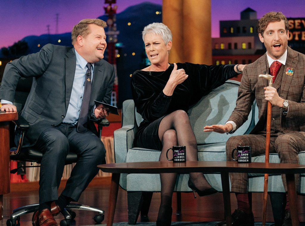 Jamie Lee Curtis, The Late Late Show with James Corden 2019