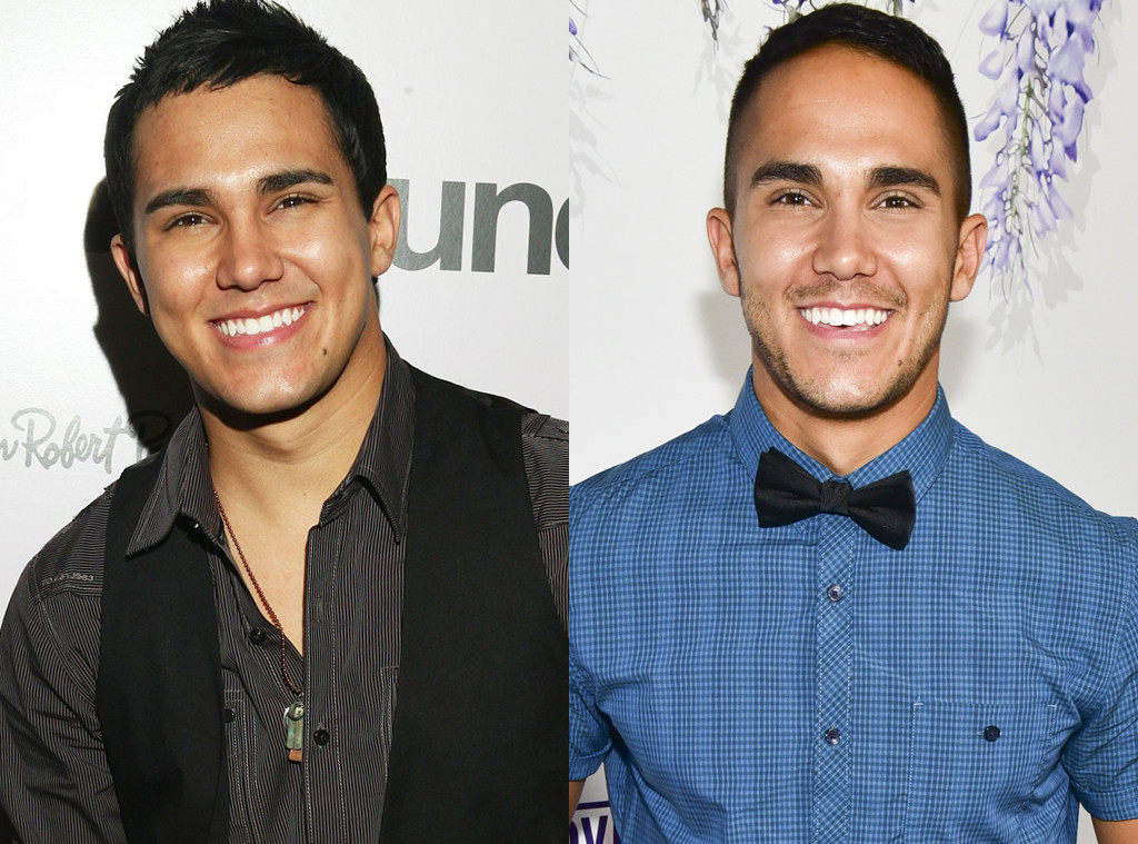 Carlos Pena Jr., Big Time Rush, Then and Now