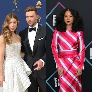 Jessica Biel, Justin Timberlake, Alisha Wainwright