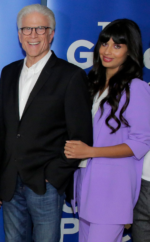 Ted Danson, Jameela Jamil