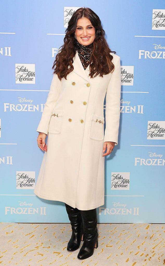 Idina Menzel, Fashion Police Widget