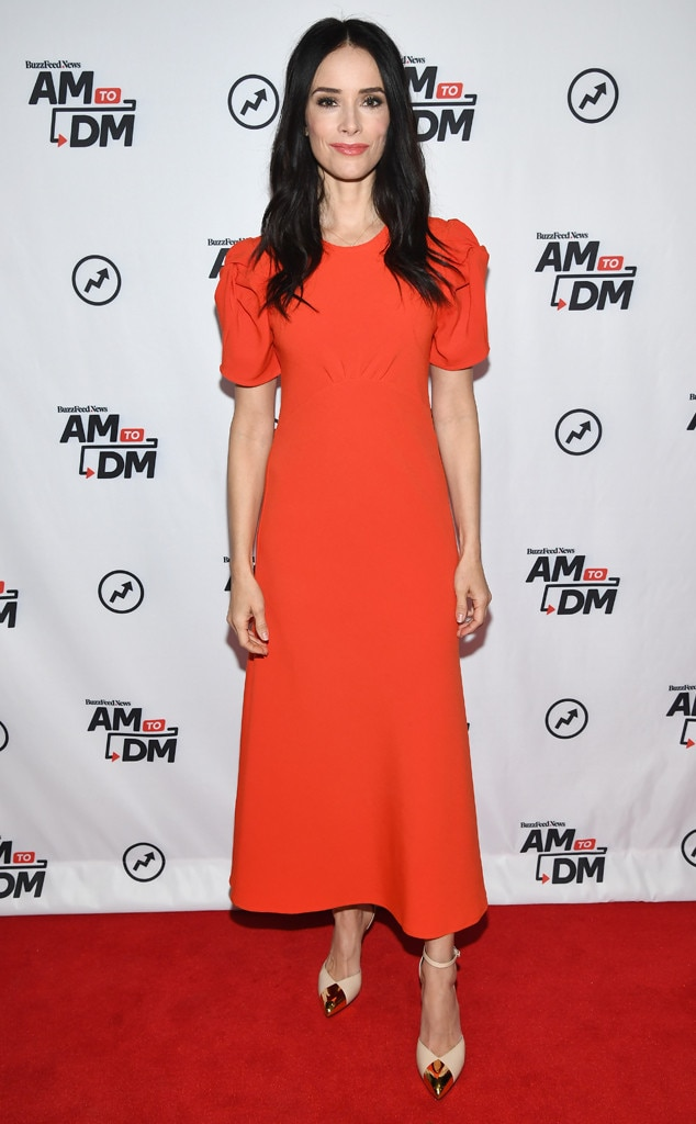Abigail Spencer, Fashion Police Widget