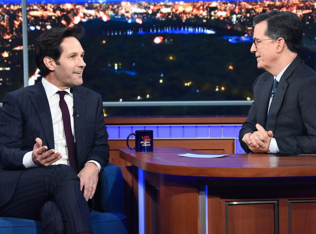 Paul Rudd, The Late Show with Stephen Colbert 2019