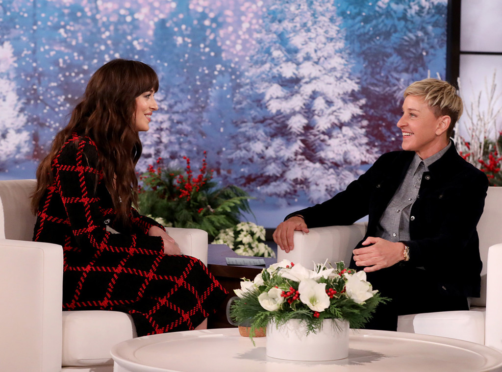 Dakota Johnson, Ellen DeGeneres
