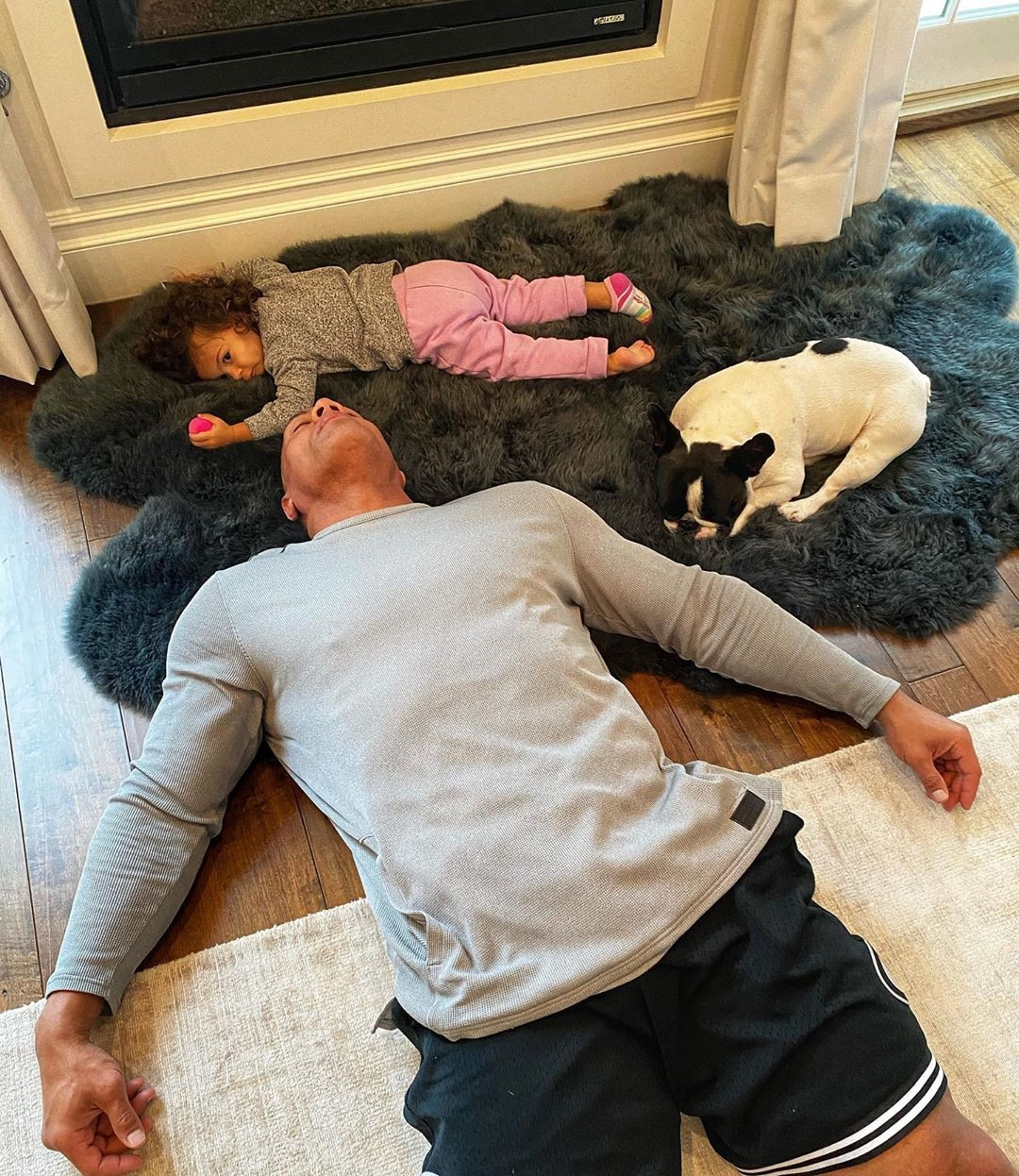 Dwayne Johnson, Thanksgiving 2019