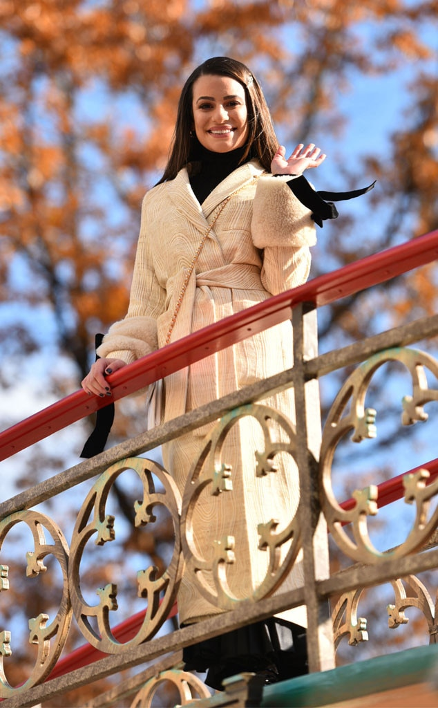 Lea Michele, 2019 Macy's Thanksgiving Day Parade