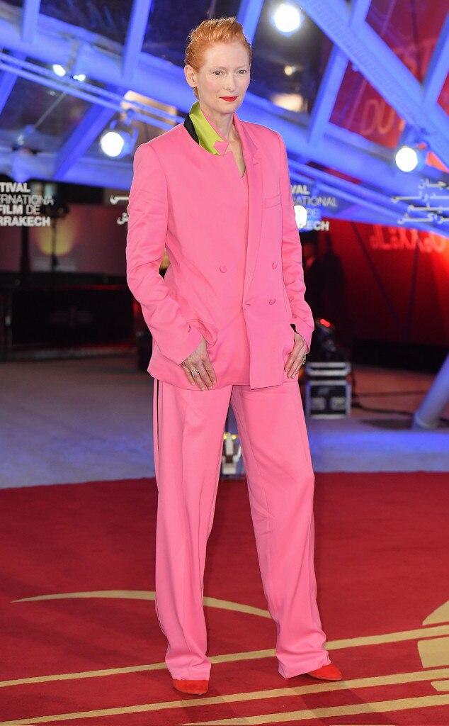 Tilda Swinton, Fashion Police Widget